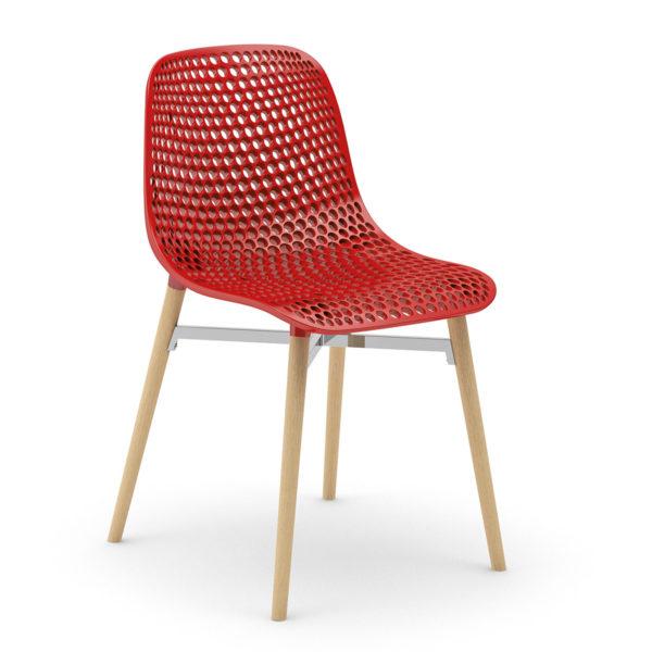 Chaise Esly plastique design