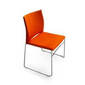 Chaise Weby-Confort-Plus aux lignes by Simmis